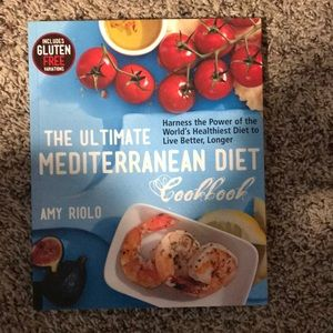 Ultimate Mediterranean Diet Cookbook Brand New